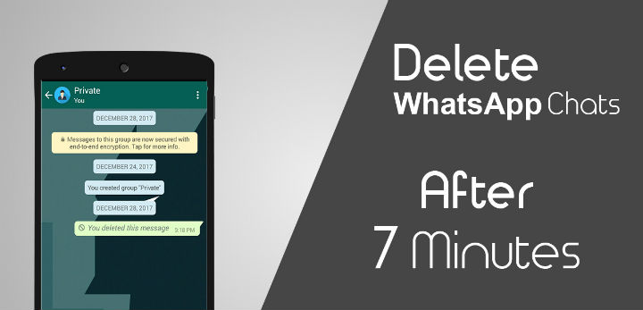 How To Delete WhatsApp Messages Even After 7 Minutes?