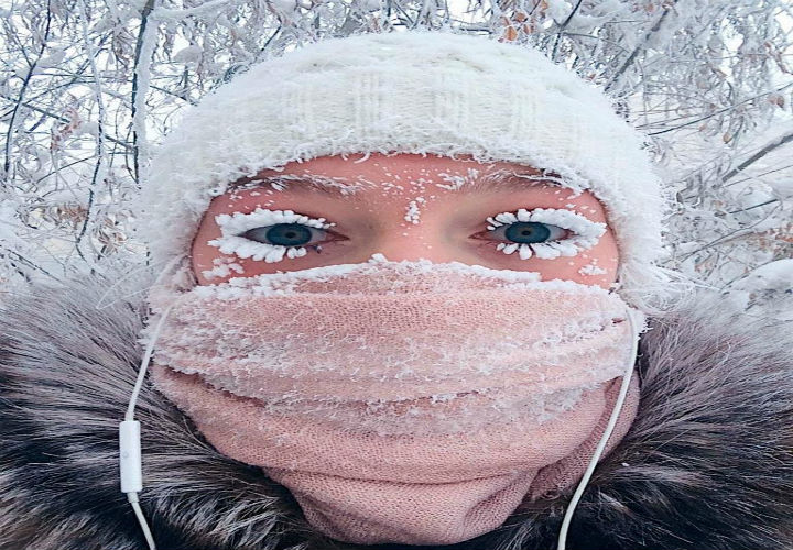 The World's Coldest Village Recorded An Unbelievable -62 Degree Centigrade!