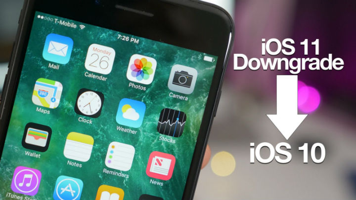 How To Downgrade from iOS 11 to iOS 10 On Your Apple Device?