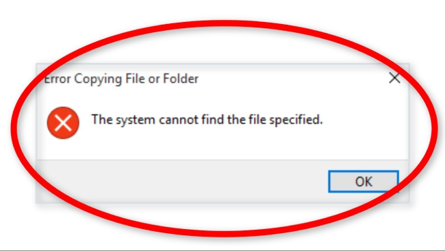 fix-the-system-cannot-find-the-file-error